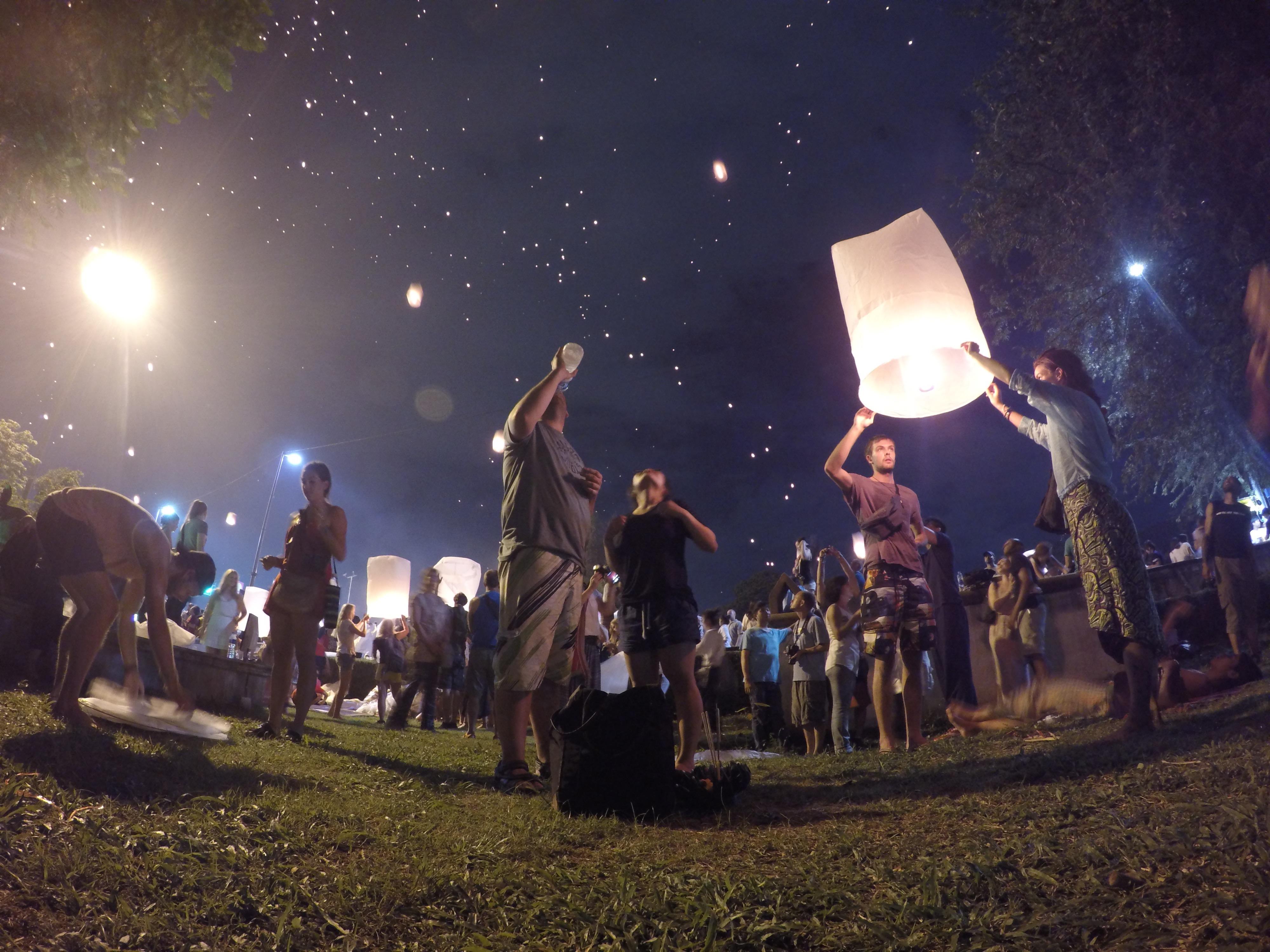 タイ 宿 ゲストハウス 世界一周 旅 ブログ 夫婦 バンコク チェンマイ チェンコーン パーイ