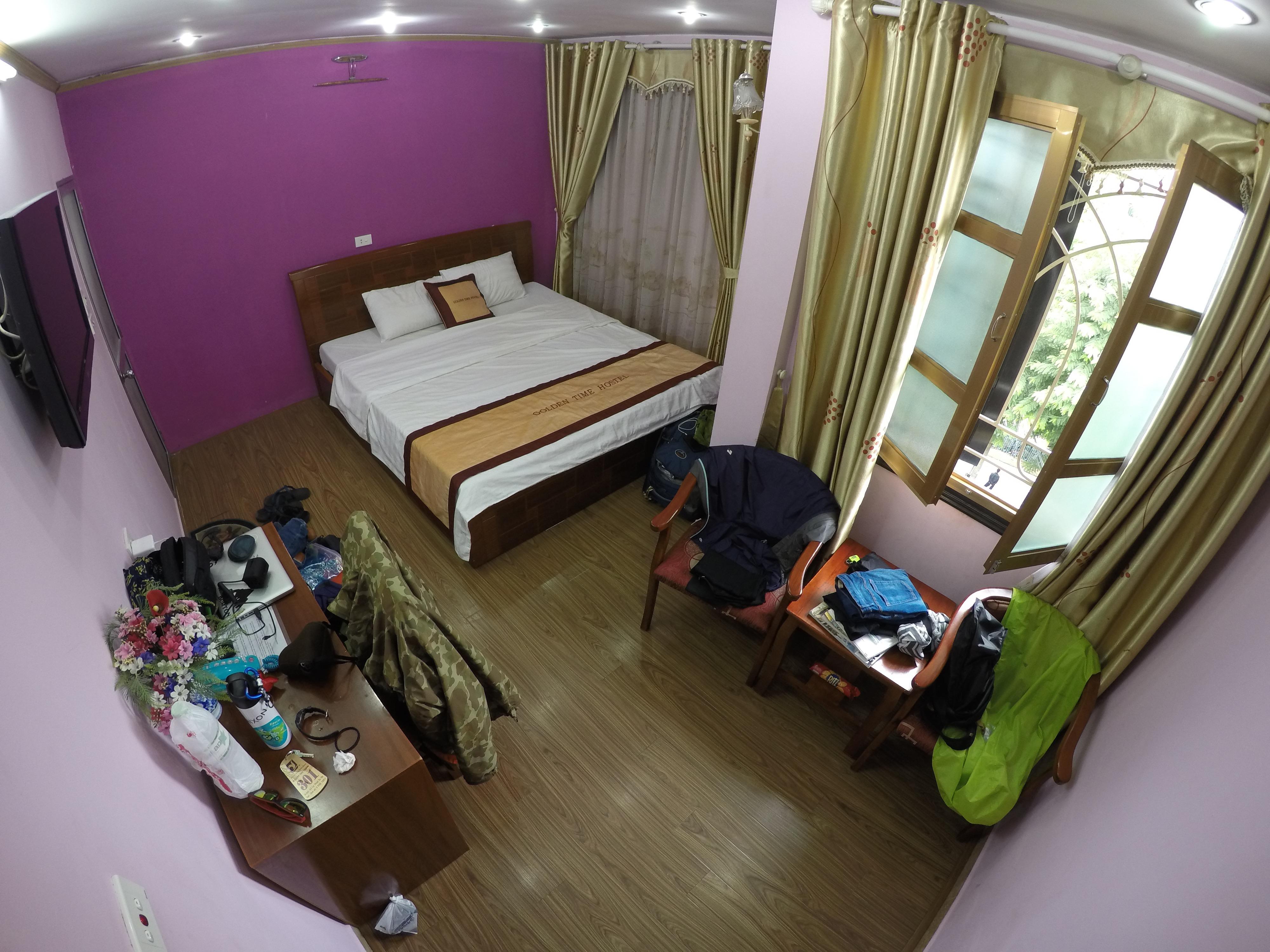 ベトナム ハノイ 宿 ゲストハウス ホステル 世界一周 旅 夫婦