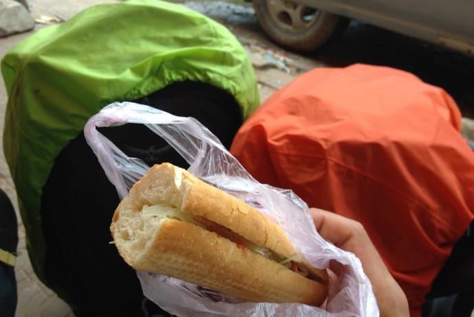 世界一周 旅 フランスパン
