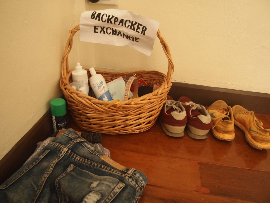 Backpackers Exchange!!