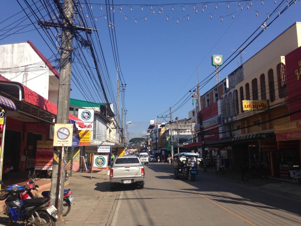 世界一周 タイ チェンコーン 街