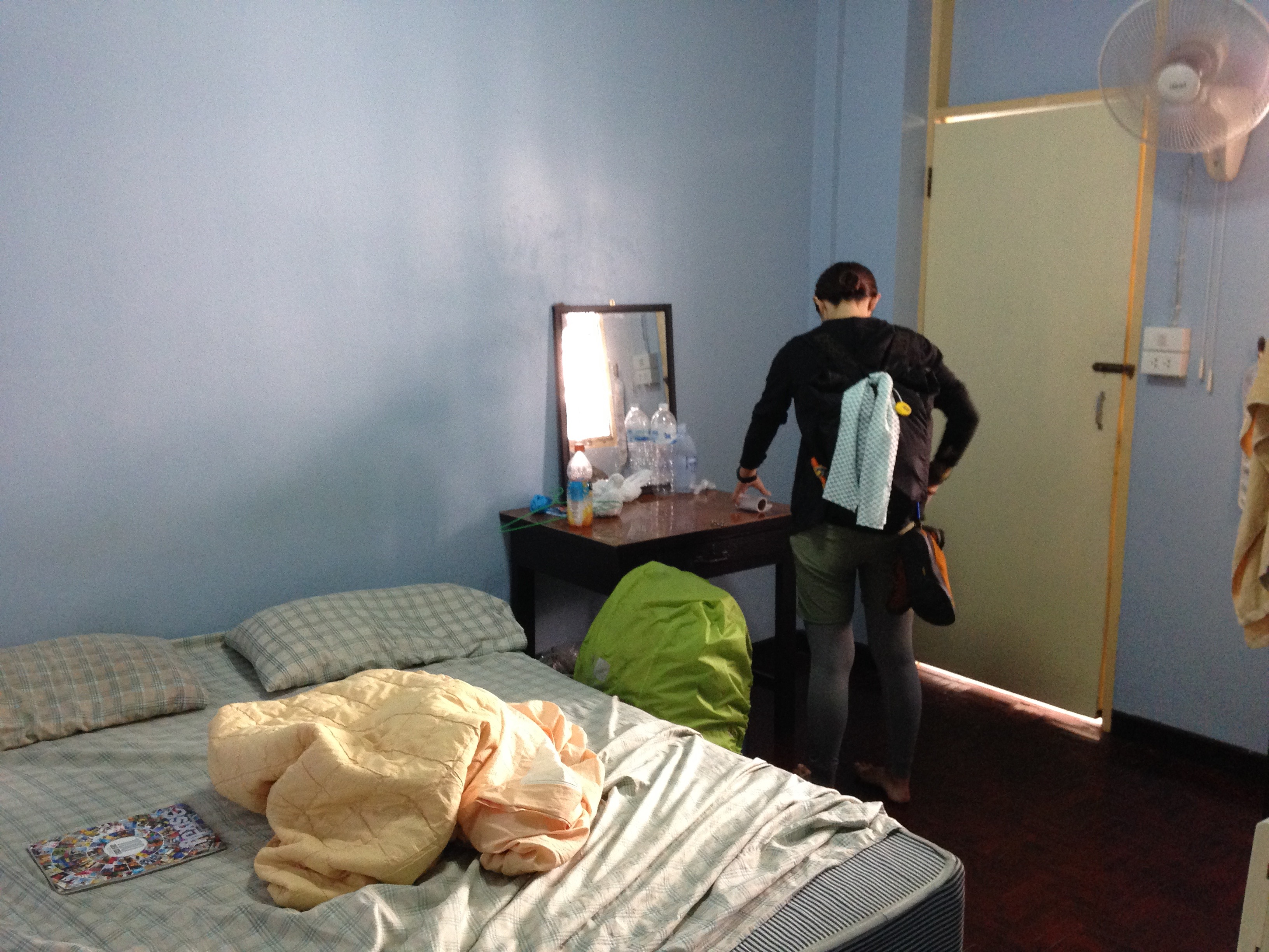 チェンマイ タイ 宿 ゲストハウス 世界一周 旅 夫婦