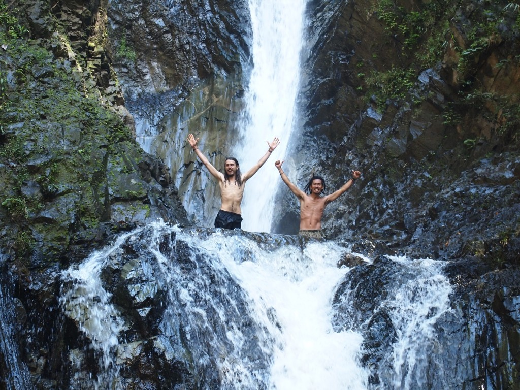 パーイ 大きな滝 Mae Yen waterfall