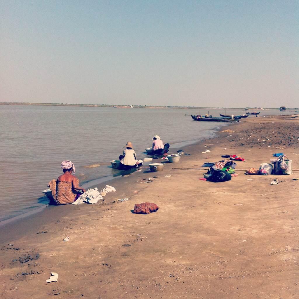 バガンのエーヤワディー川
