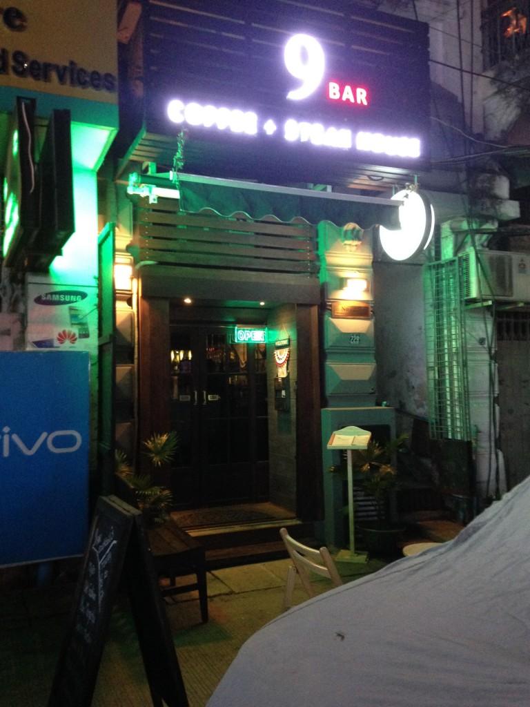 ヤンゴンの9bar