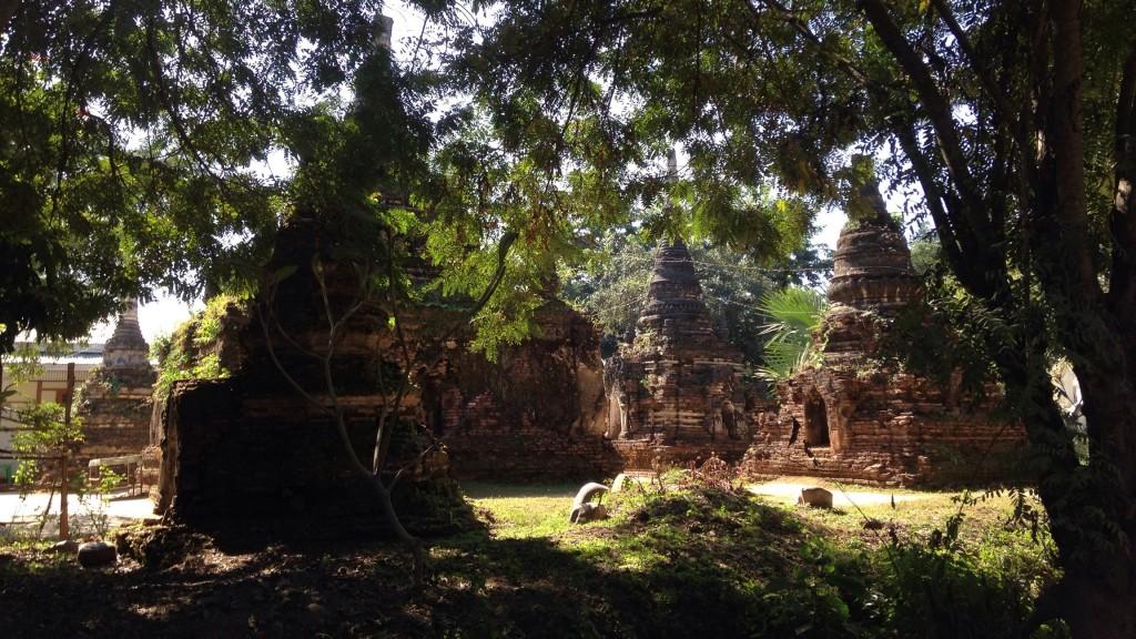 ミャンマー北部 シーポー 寺院