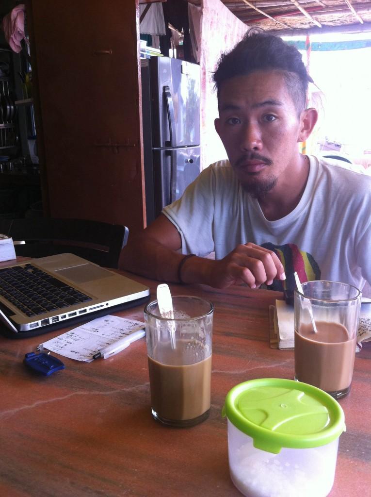 インド ハンピ コーヒー
