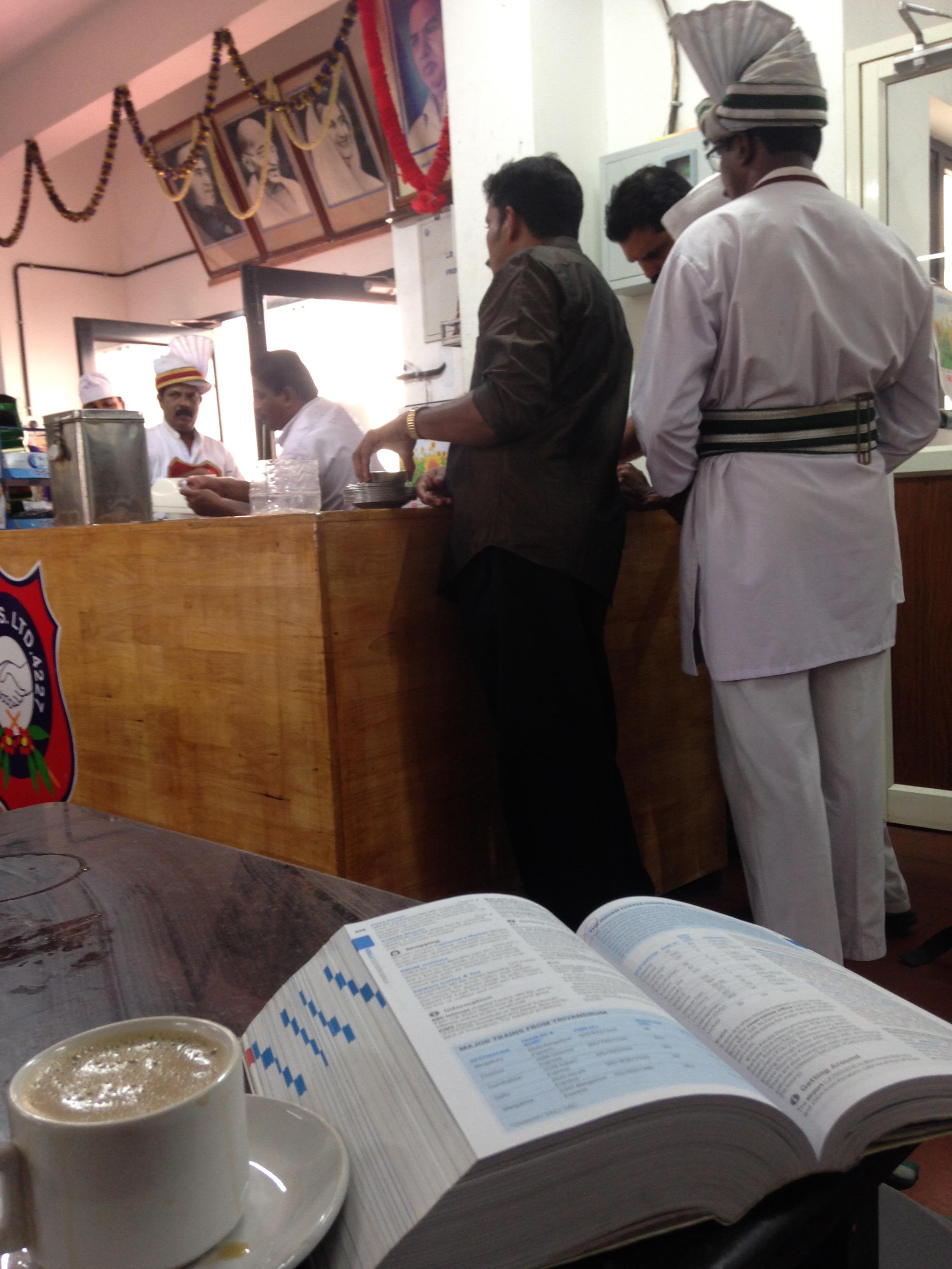 カニャクマリ バルカラ 移動 ローカル バス トリバンドラム インディアンコーヒーハウス