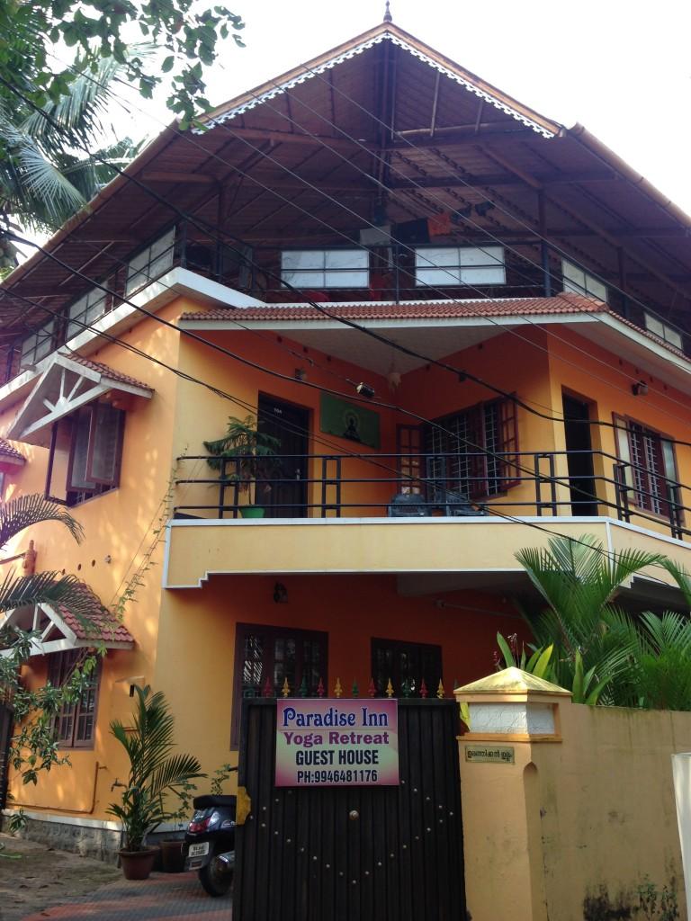 インド 宿 ゲストハウス 世界一周 旅 アレッピー