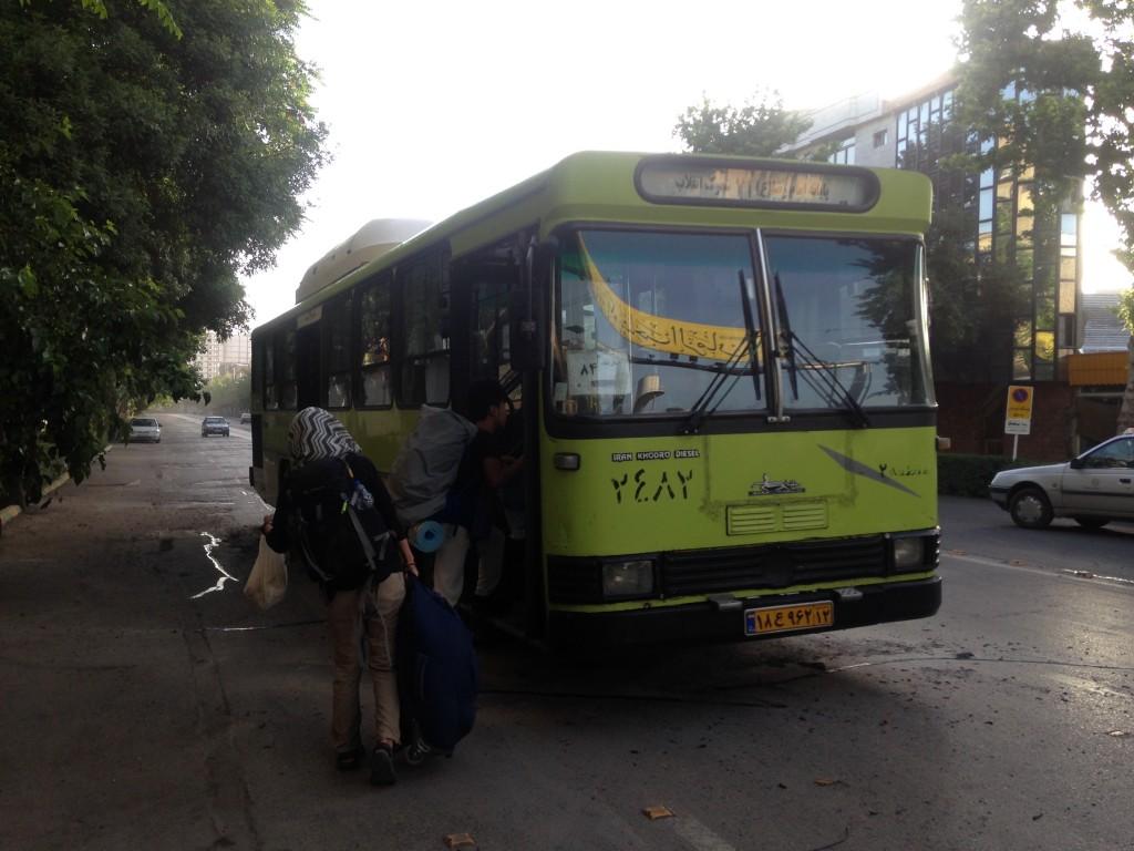 マシュハド バス