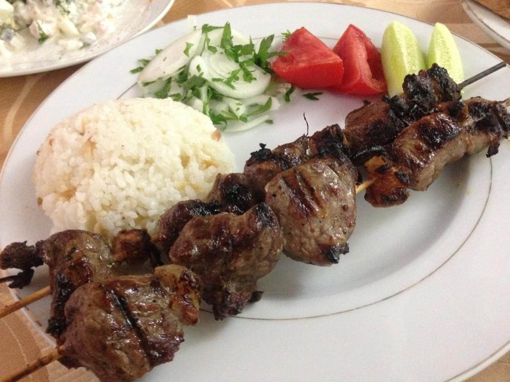 トルクメニスタン アッシガバード レストラン