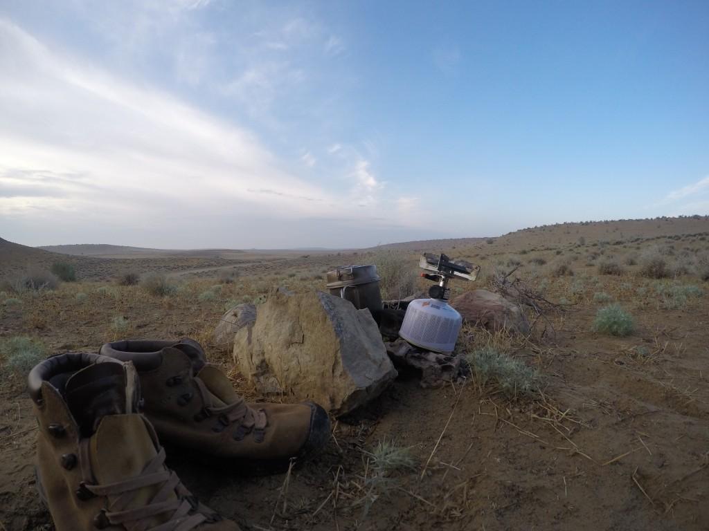トルクメニスタン 地獄の門 キャンプ