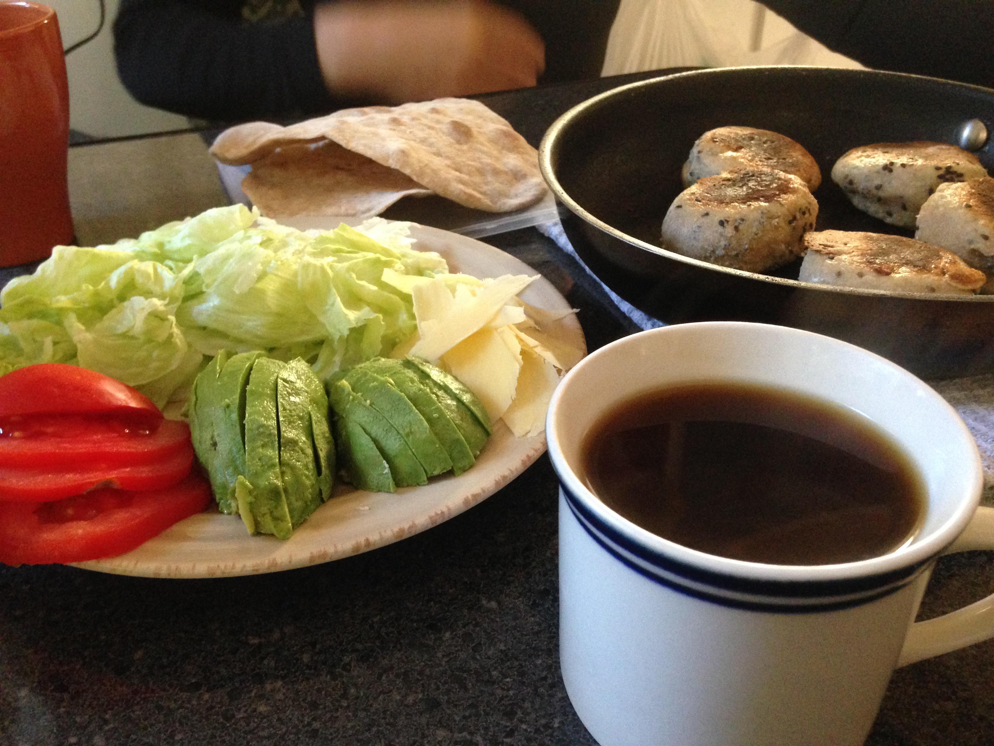 オーストラリア ワーホリ 年越し カヤック ケーキ コーヒー 茶