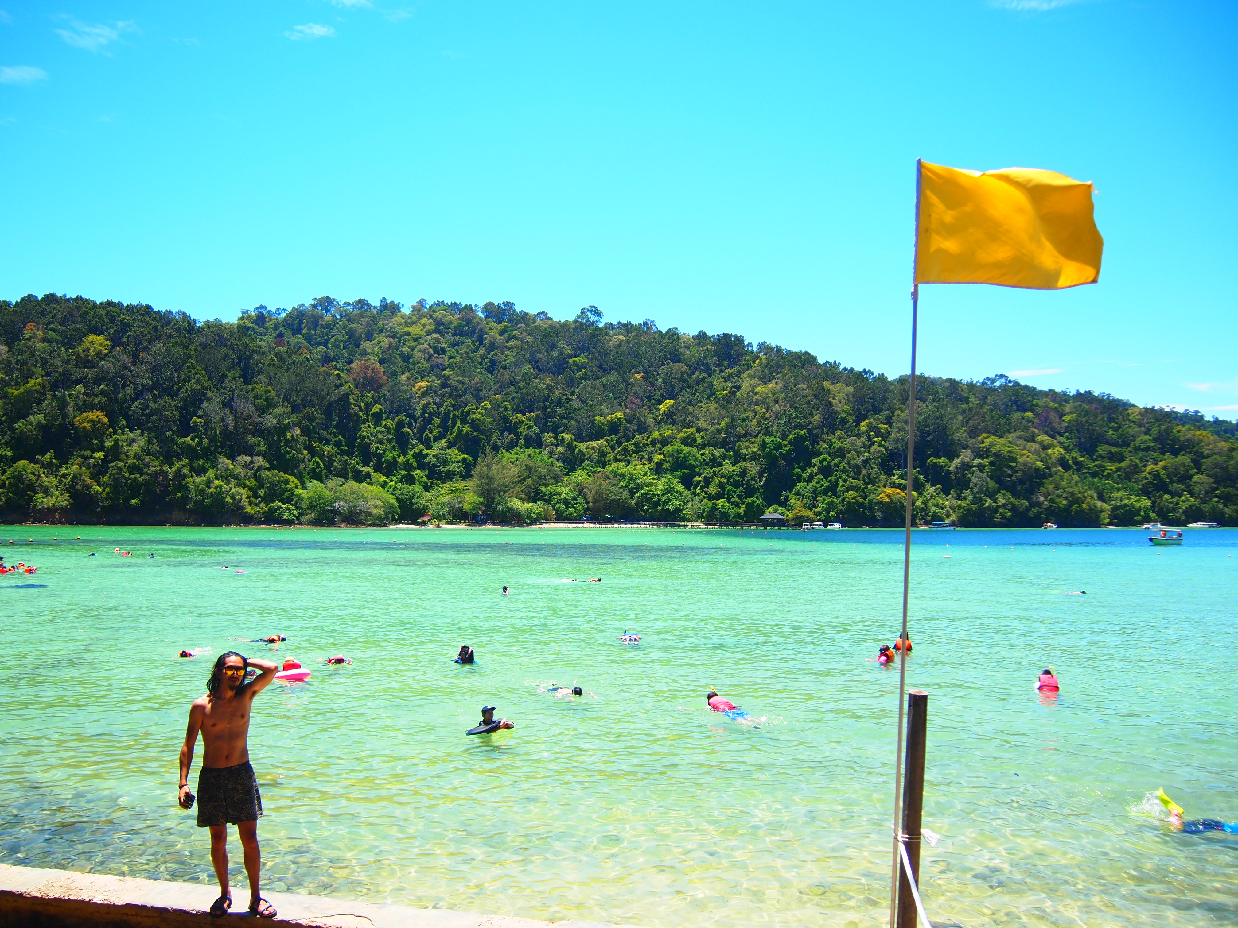 マレーシア コタキナバル サピ島