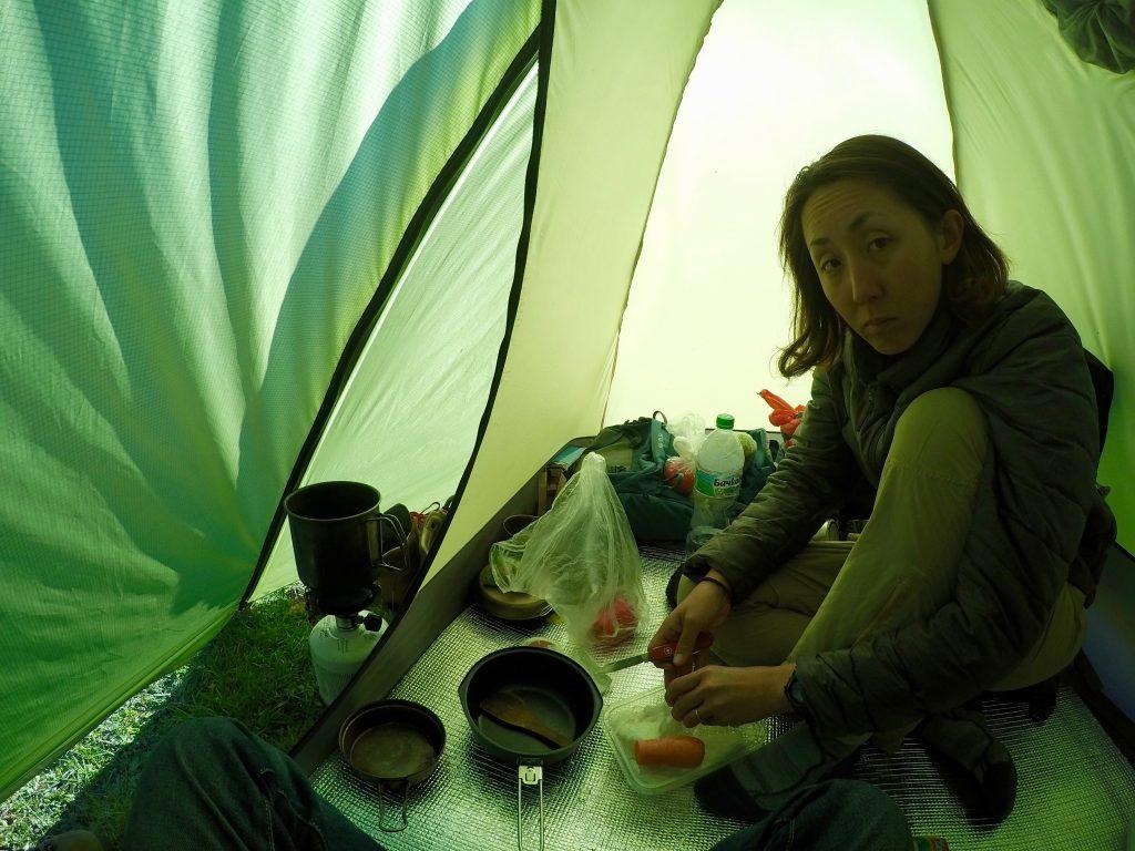 キャンプ テント 野営 世界一周 旅 自由 snowpeak