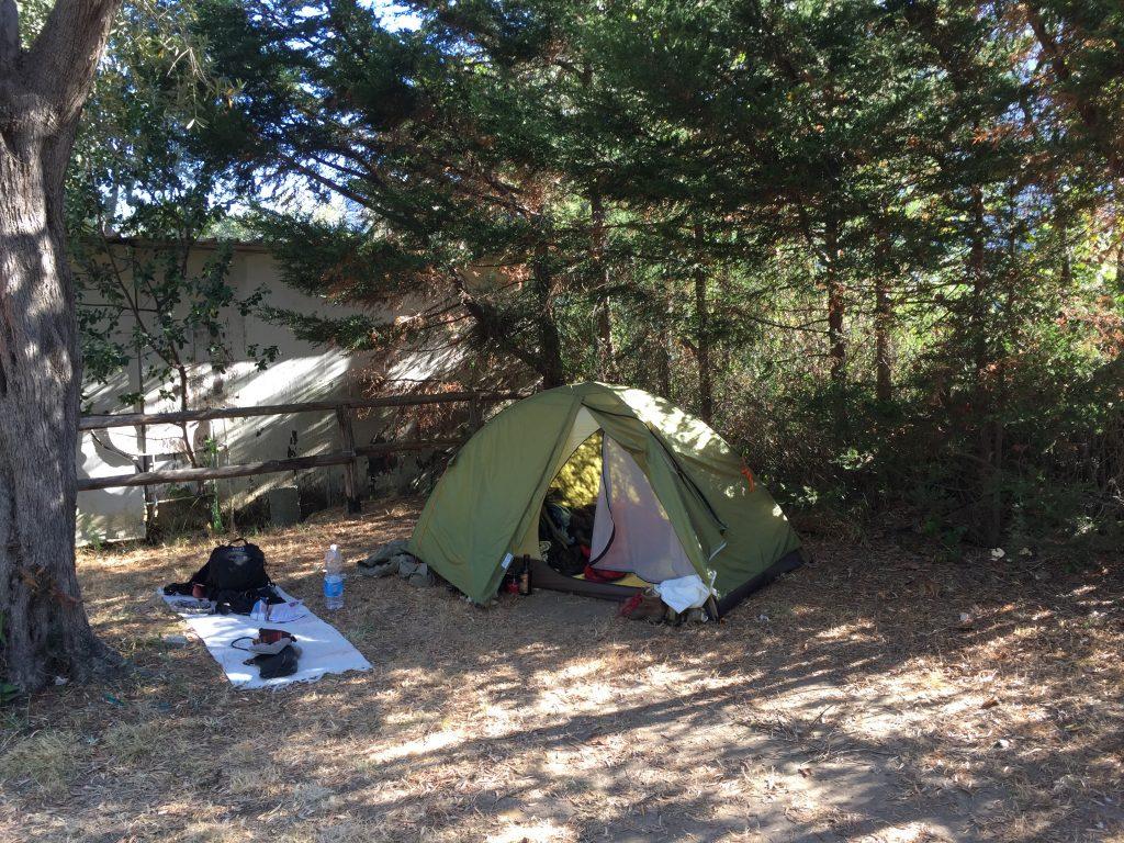 イタリア 世界一周 ポジターノ アマルフィ キャンプ
