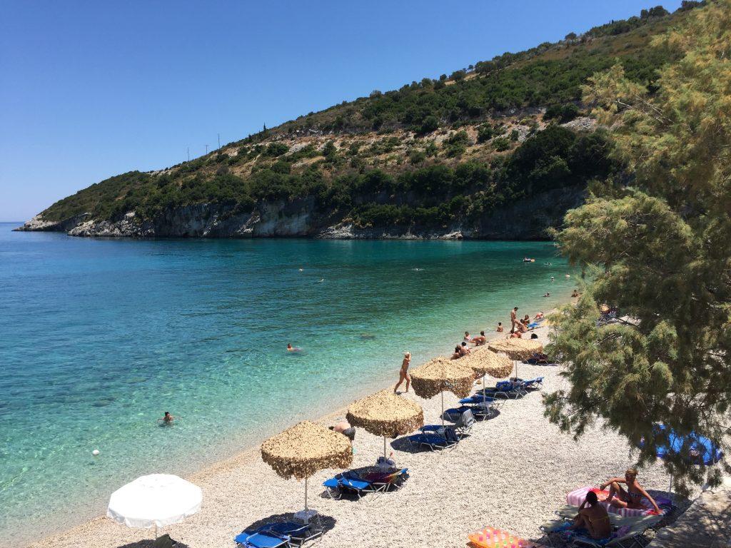 ギリシャ ザキントス島 海