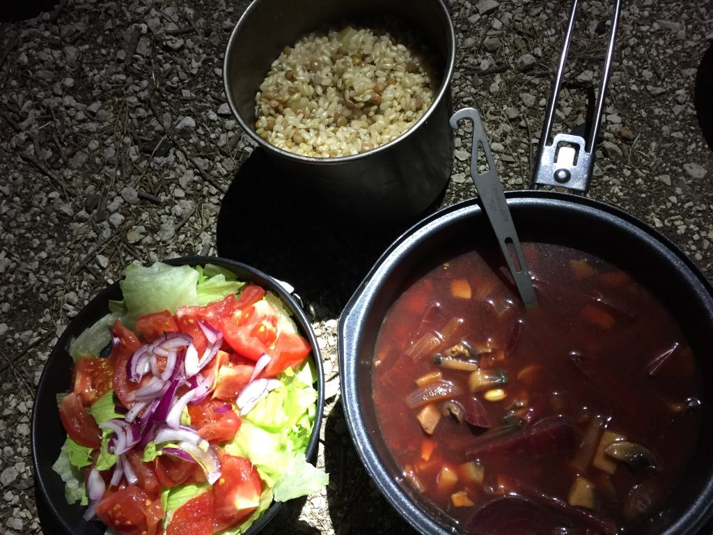 ギリシャ ザキントス島 キャンプ 自炊飯