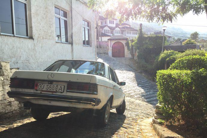 世界一周 アルバニア ジロカストル レバト バルカン 半島