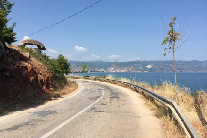 世界一周 アルバニア マケドニア 国境付近