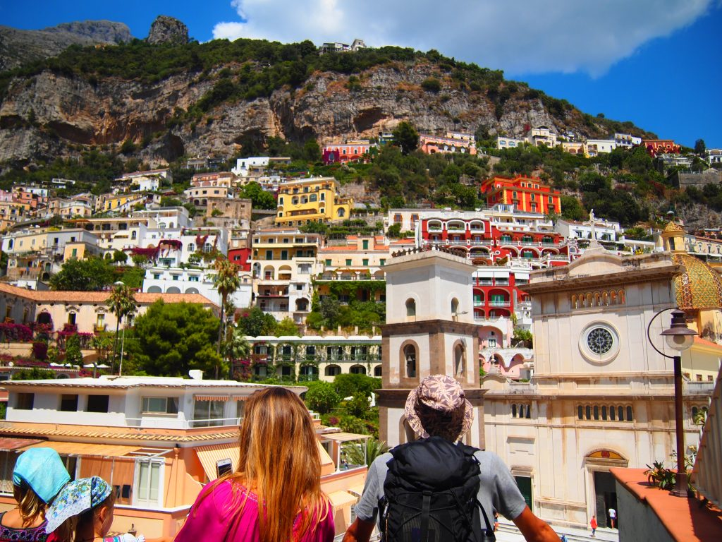 イタリア 世界一周 ポジターノ アマルフィ