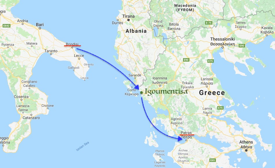 イタリア,ギリシャ,フェリー,ブリンディシ,パトナ,格安,世界一周,旅,ブログ