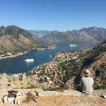 世界一周 モンテネグロ コトル 山 トレッキング 絶景