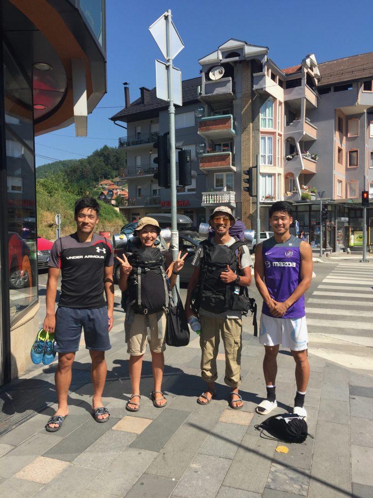 世界一周 バルカン半島 モンテネグロ 名前も知らない町 日本人 サッカー選手
