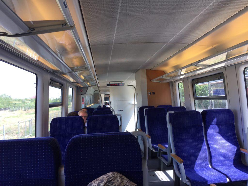 ルーマニア 電車 移動 ティミショアラ