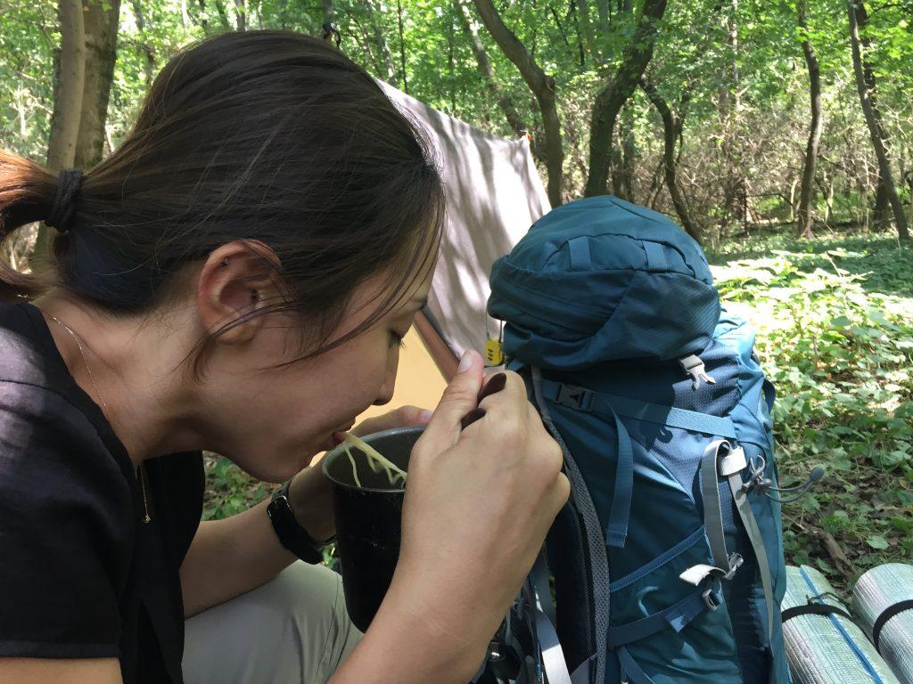 ウィーン 公園 テント キャンプ 泊 オーストリア プラハ チェコ 世界一周 旅 ブログ 観光 食