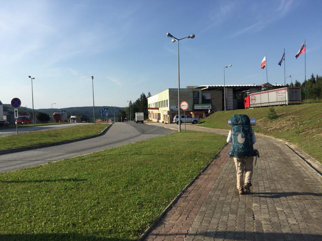 スロバキア,ポーランド,スビドニク,国境,バス,徒歩,キャンプ,焚き火,テント,ポプラド,世界一周,旅ブログ