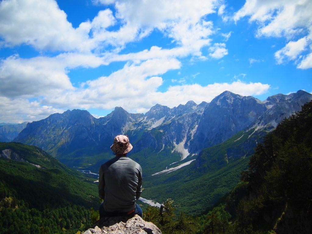 世界一周 アルバニア バルボーナ セス トレッキング