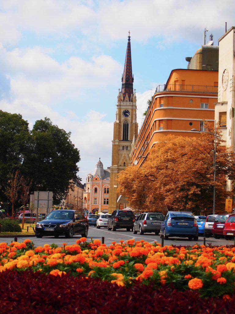 セルビア ノヴィサド 観光