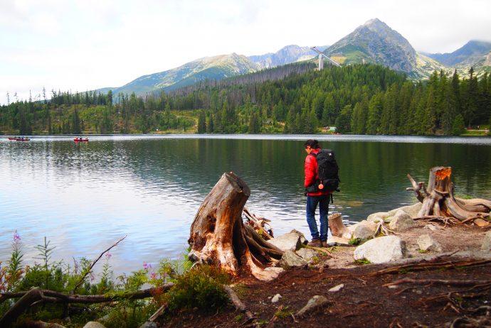 ポプラド タトラ スロバキア 山 トレッキング 自然 湖
