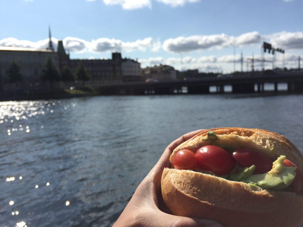世界一周 スウェーデン ストックホルム 朝ごはん