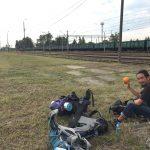 ポーランド ウクライナ 国境 キャンプ