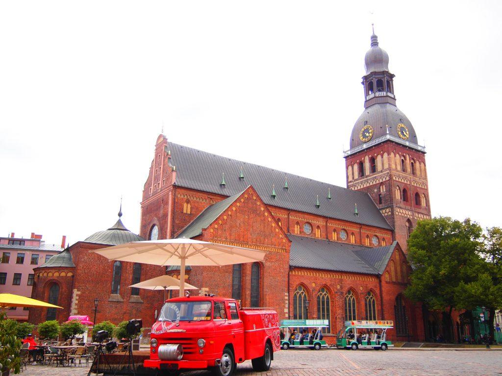 世界一周 バルト三国 ラトビア 観光