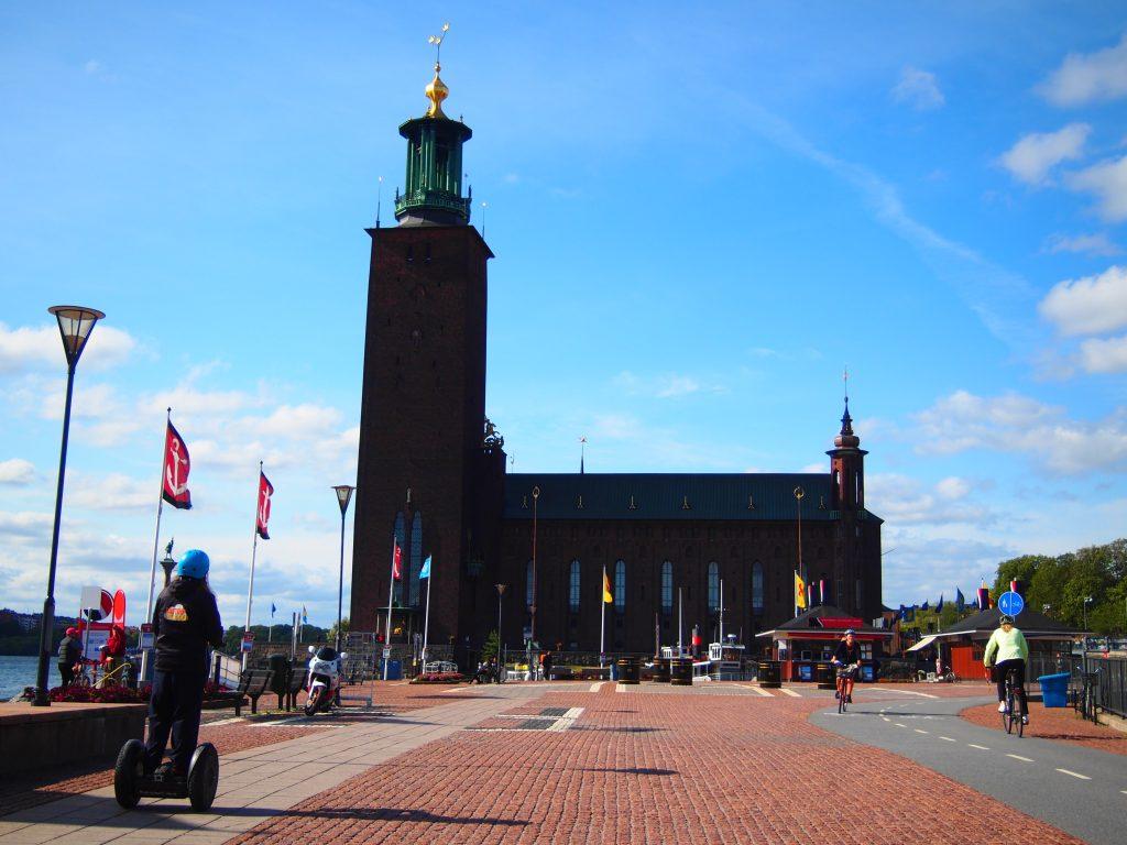 世界一周 スウェーデン ストックホルム 市庁舎