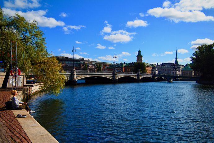 世界一周 スウェーデン ストックホルム 旧市街