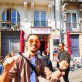 ナント フランス 世界一周 旅 ホームステイ BBQ チーズ コニャック 象 家族