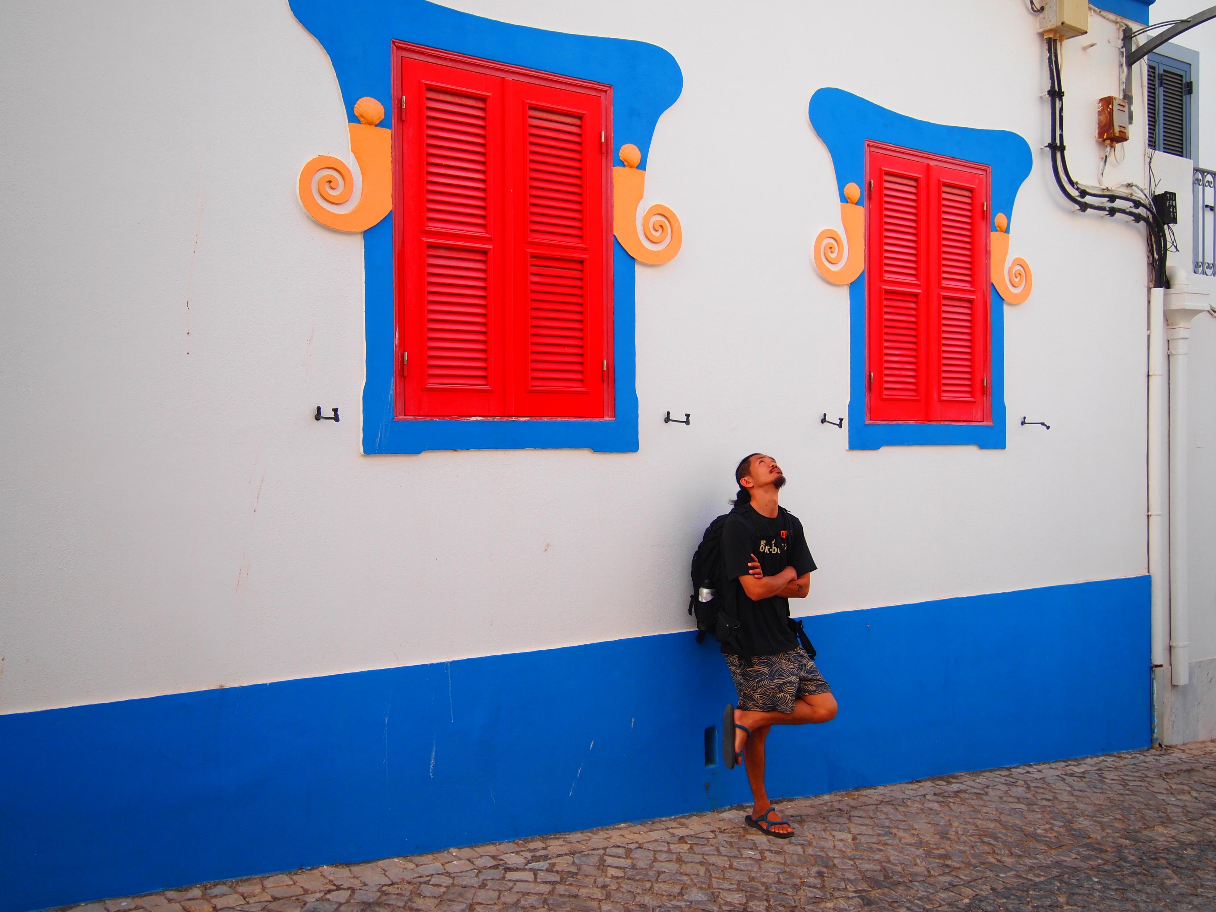 ラゴス ポルトガル 世界一周 旅 夫婦 海 砂浜 リゾート 絶景