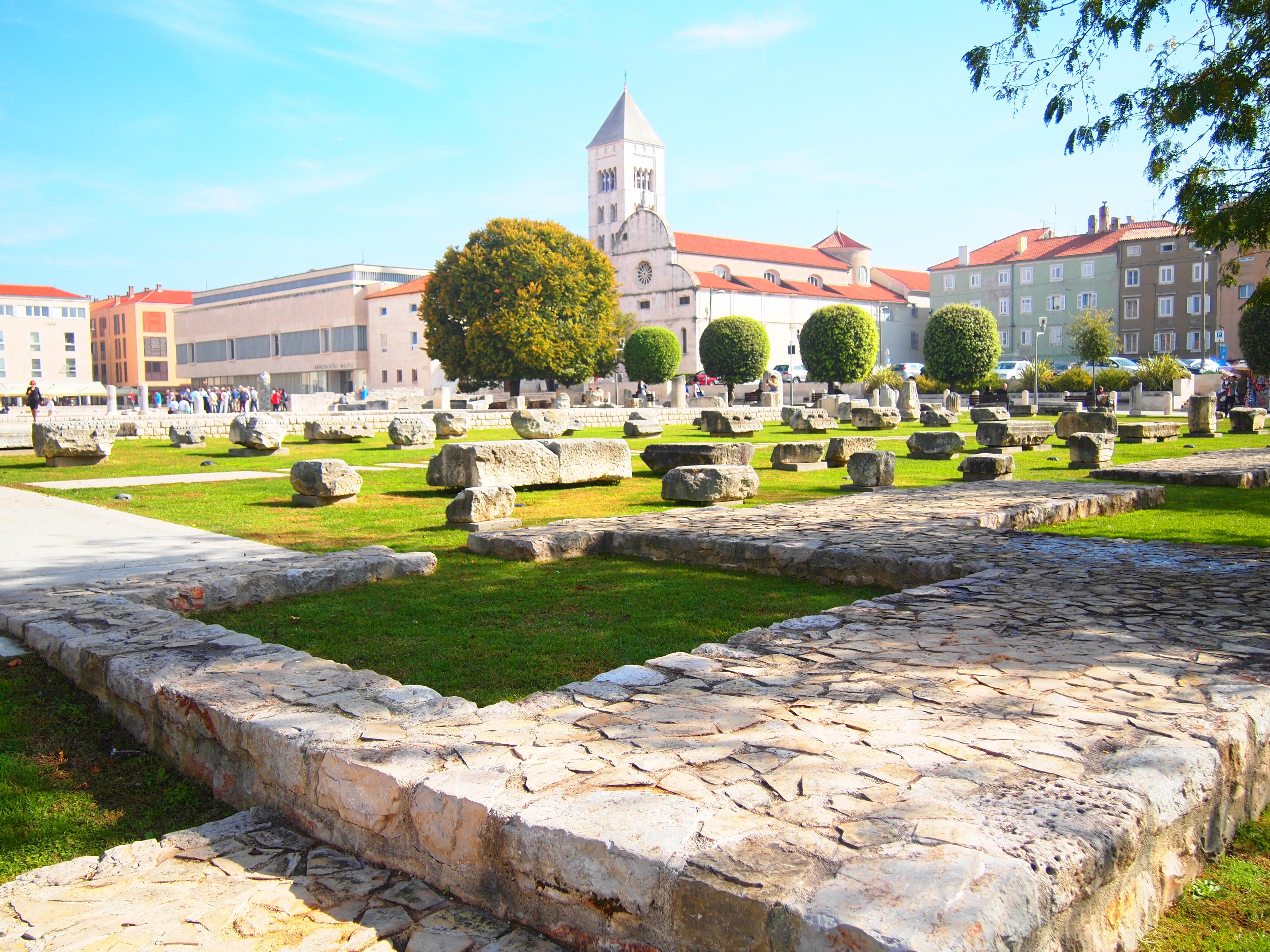 世界一周 クロアチア ザダル 観光