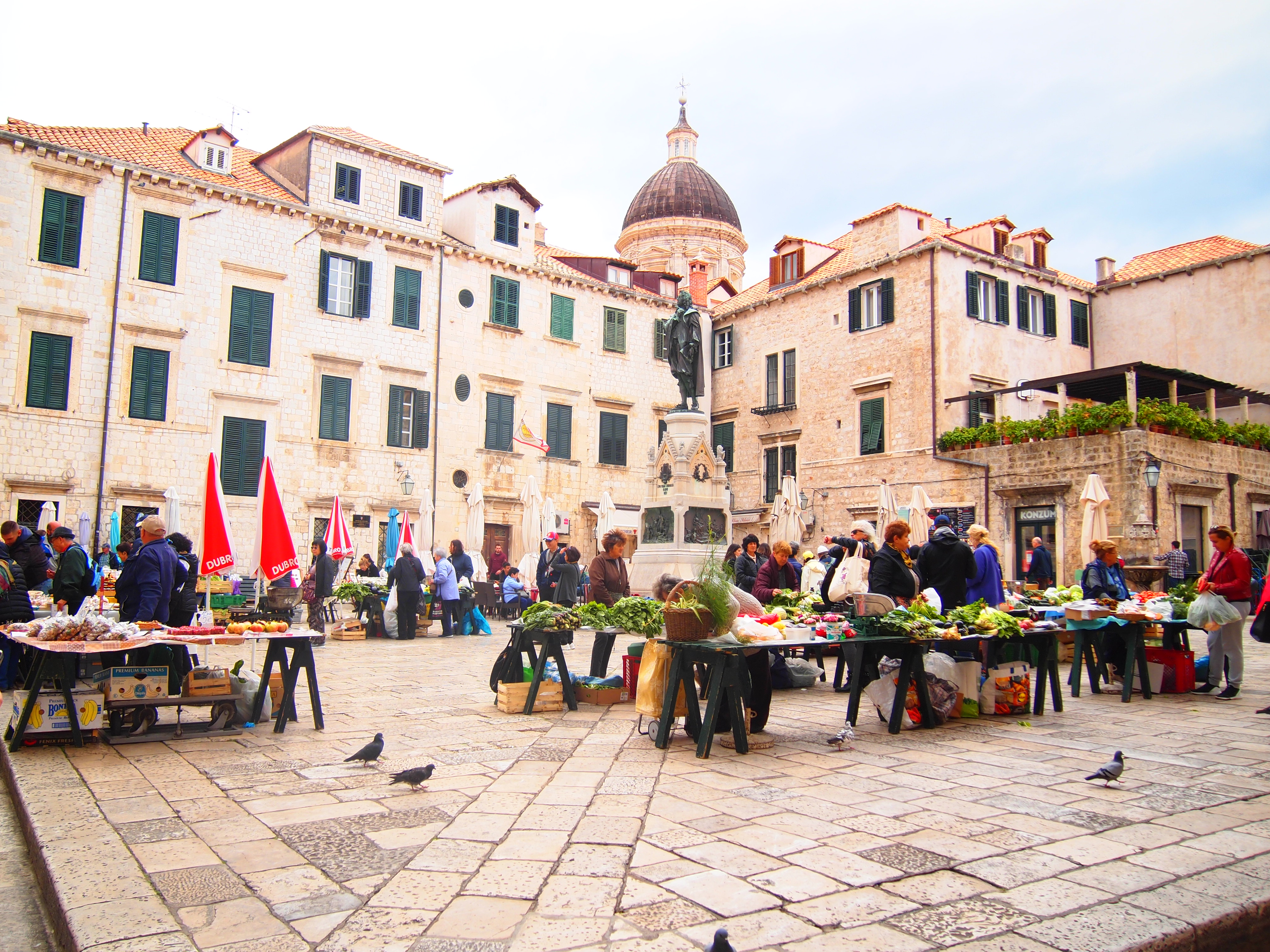 世界一周 ブログ クロアチア ドブロブニク 観光
