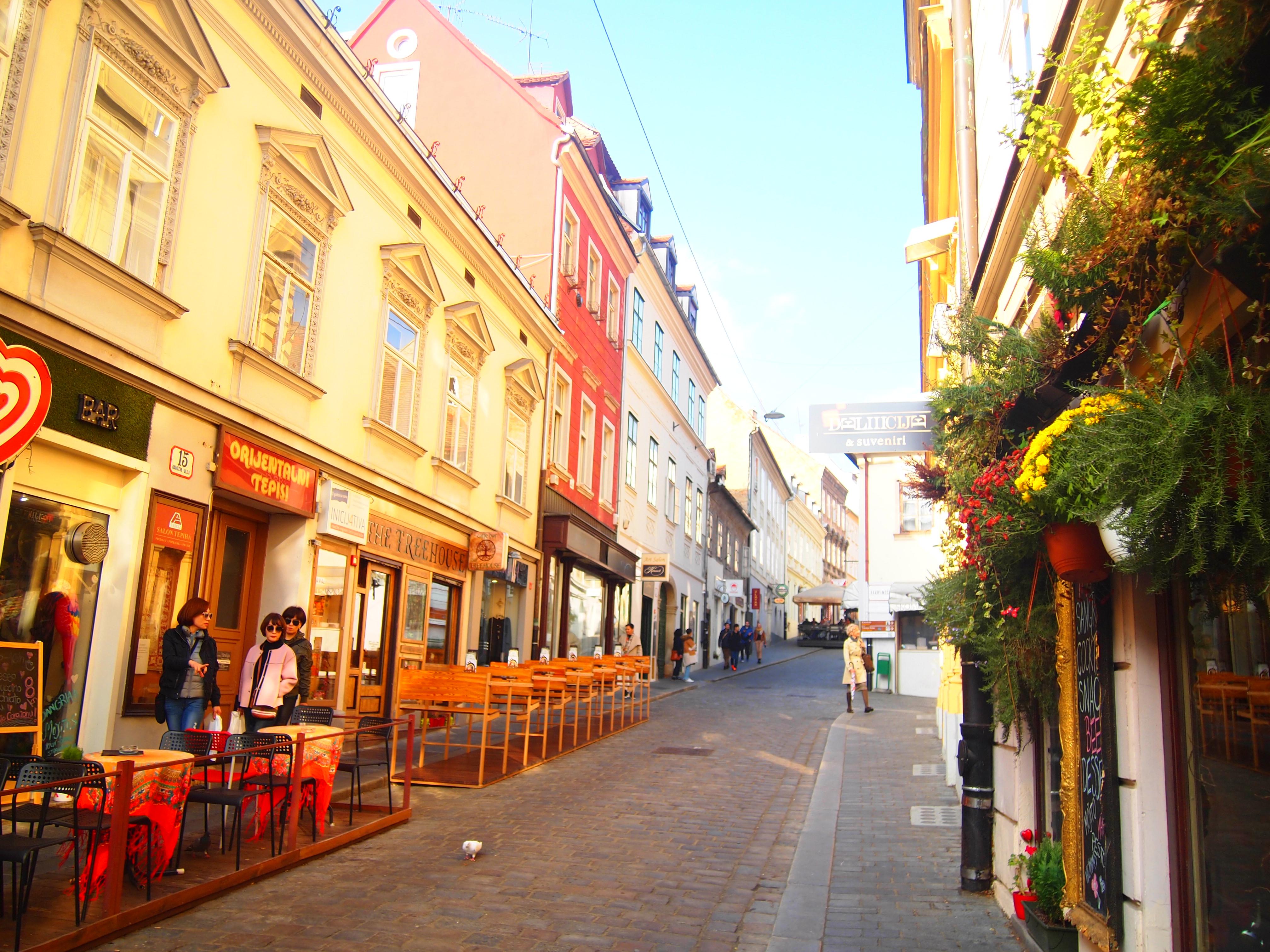 世界一周 ブログ クロアチア ザクレブ