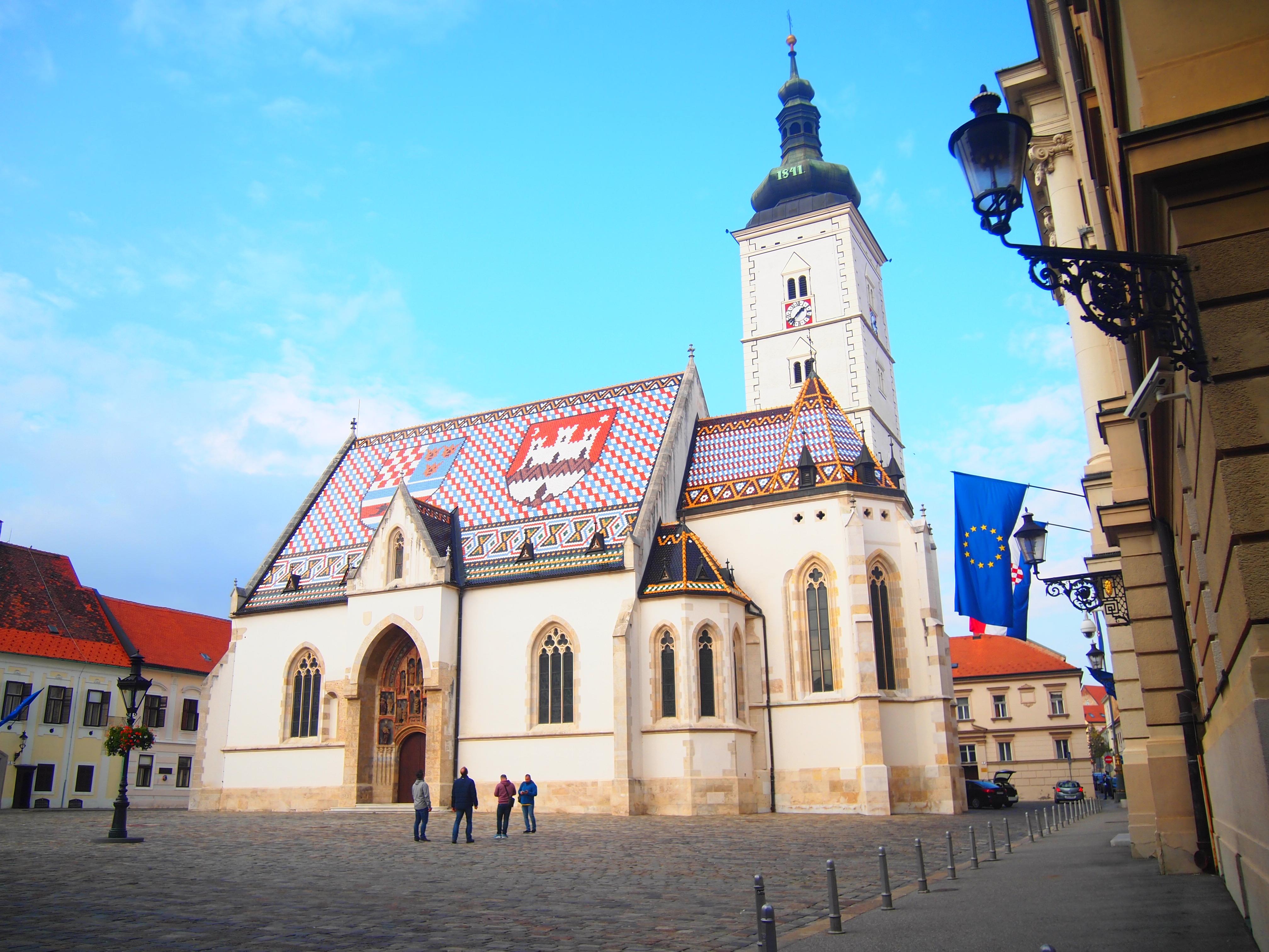 世界一周 ブログ クロアチア ザクレブ 観光