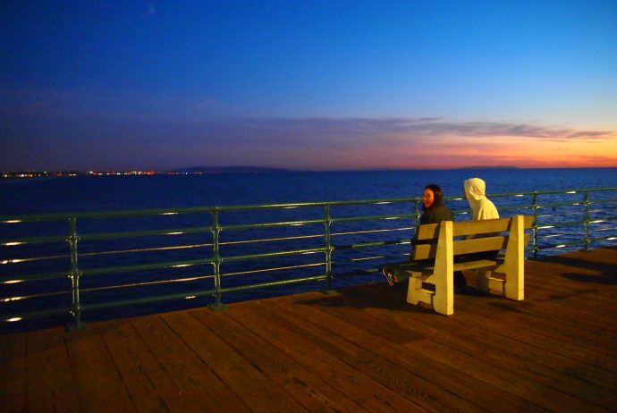 LA,ポキ,サンタモニカ,ルート,66,世界一周,旅,ブログ,カンナビス,日本人,夫婦