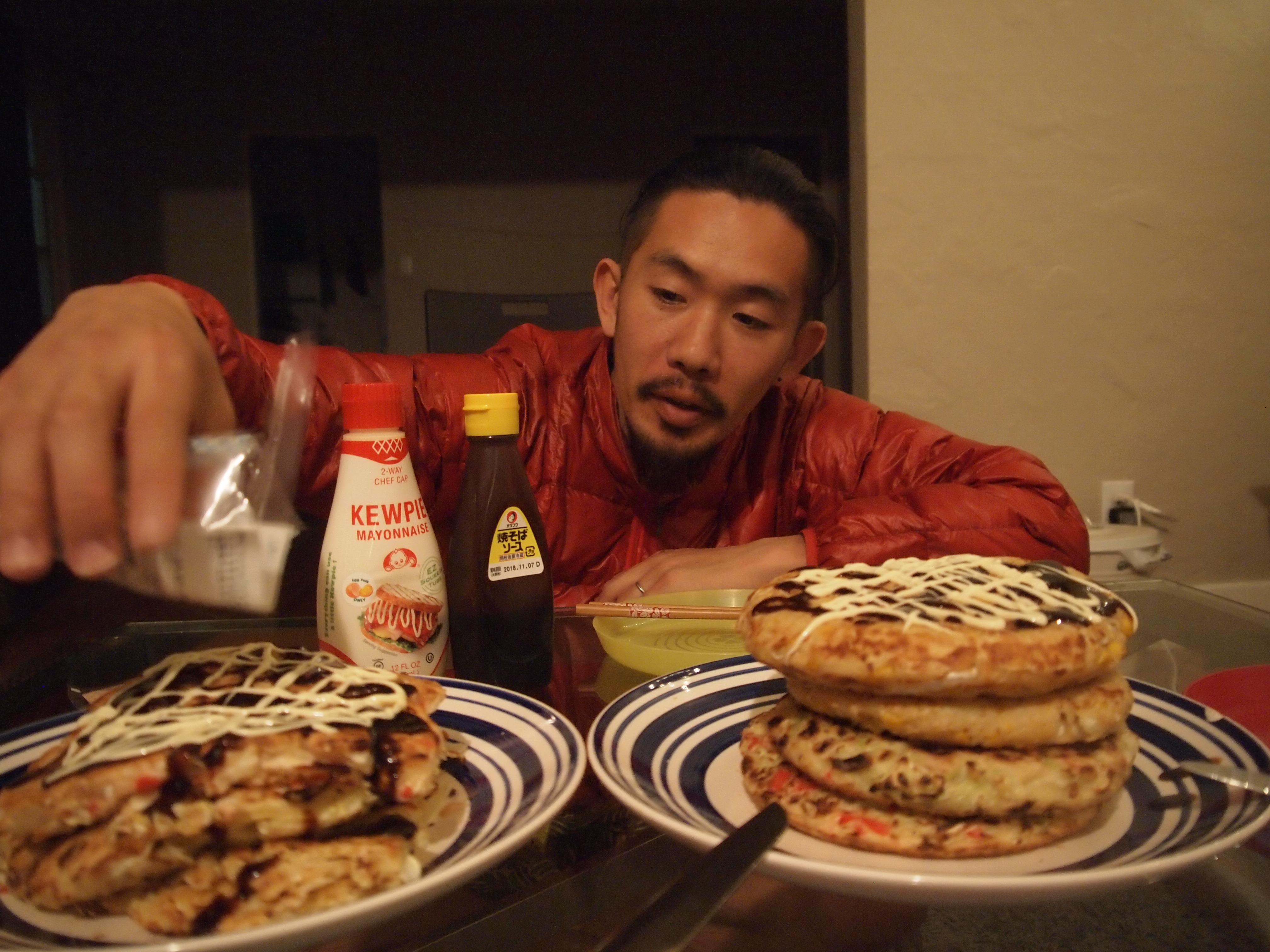 LA,在住,生活,沈没,世界一周,旅,ブログ,友達,日本食,うどん,ケーキ,寿司