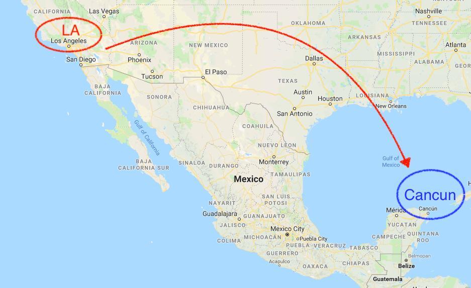 メキシコ,カンクン,空港,バス,移動,宿,ローカル飯,オススメ,世界一周,旅
