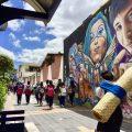 エクアドル,民族,オタバロ,長い髪,パナマ帽,スカート,経済,幸せ,世界一周,旅,ブログ