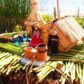 トトラ,草,島,ウロス族,チチカカ,湖,ペルー,世界一周,旅,ブログ